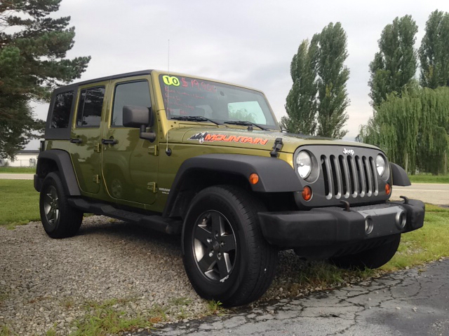 2010 Jeep Wrangler Unlimited 4x4 Sport 4dr SUV - Leesburg OH