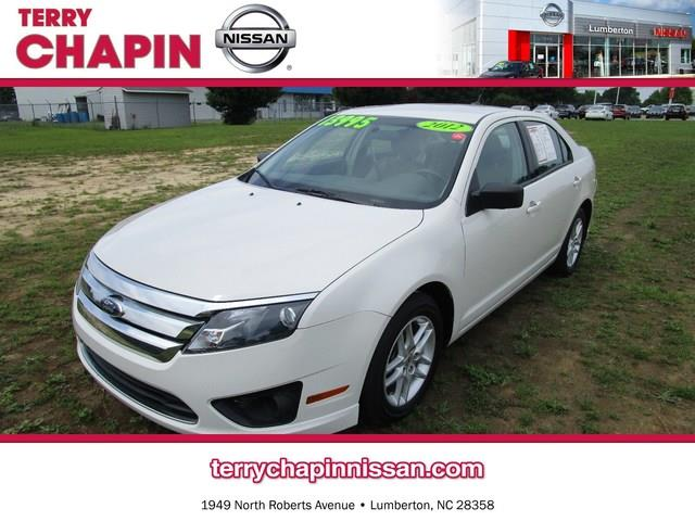 2012 FORD Fusion for sale in LUMBERTON NC