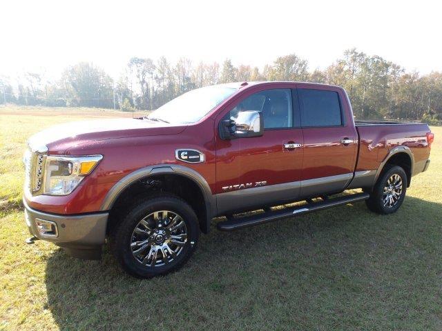 2017 nissan titan xd 4x4 platinum reserve 4dr crew cab diesel in lumberton nc terry chapin. Black Bedroom Furniture Sets. Home Design Ideas