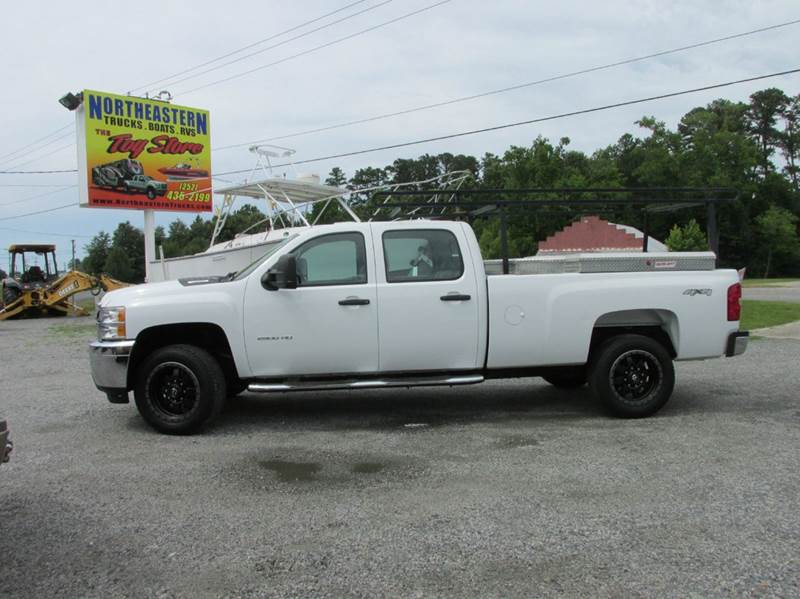 2013 chevrolet silverado 2500hd 4x4 work truck 4dr crew cab lb in moyock nc northeastern trucks. Black Bedroom Furniture Sets. Home Design Ideas