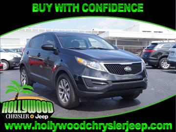 2015 Kia Sportage for sale in Hollywood, FL