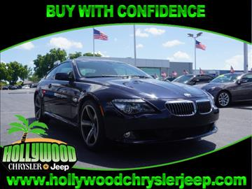2009 BMW 6 Series for sale in Hollywood, FL