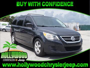 2011 Volkswagen Routan for sale in Hollywood, FL