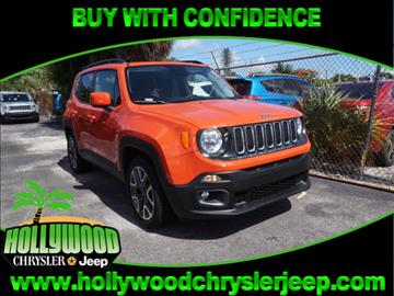 2017 Jeep Renegade for sale in Hollywood, FL