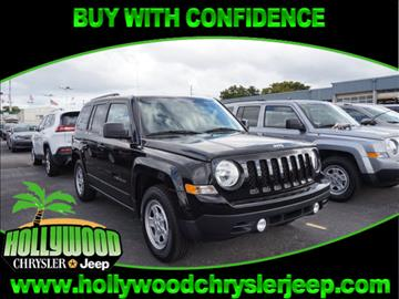 2017 Jeep Patriot for sale in Hollywood, FL