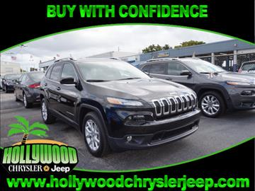 2017 Jeep Cherokee for sale in Hollywood, FL