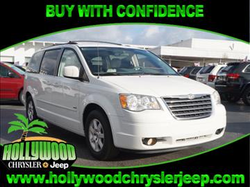2008 Chrysler Town and Country for sale in Hollywood, FL