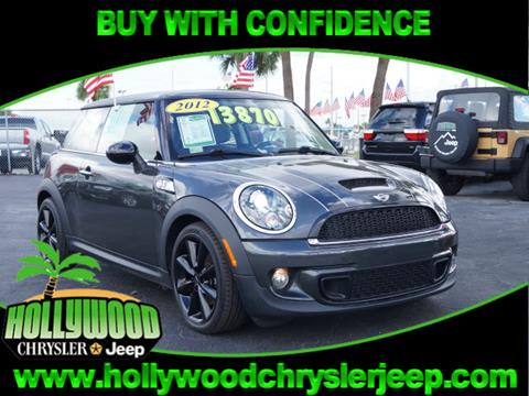 2012 MINI Cooper Hardtop for sale in Hollywood, FL