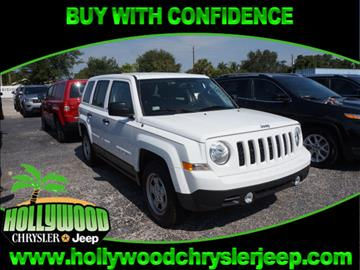 2016 Jeep Patriot for sale in Hollywood, FL