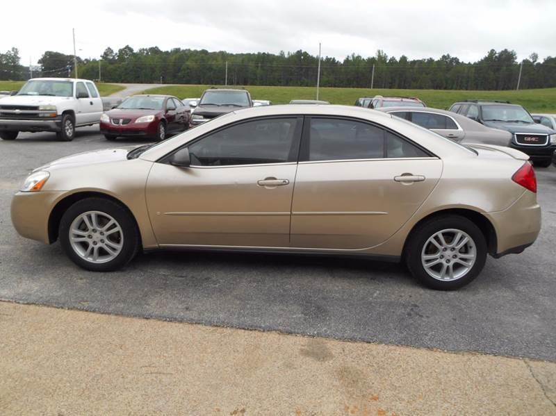 2007 Pontiac G6 4dr Sedan - Walnut MS