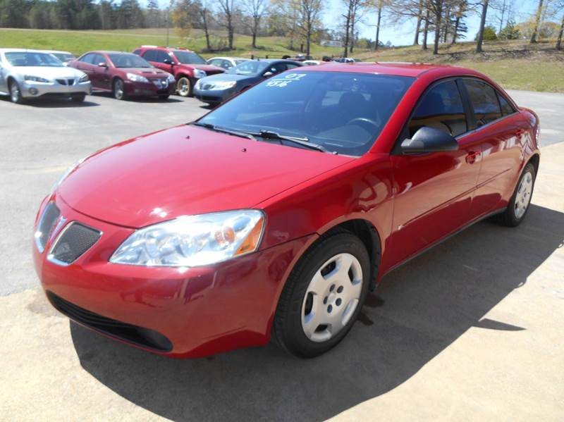 2007 Pontiac G6 Value Leader 4dr Sedan w/1SV - Walnut MS