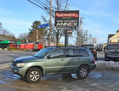 2005 Toyota Highlander for sale in Brunswick, ME