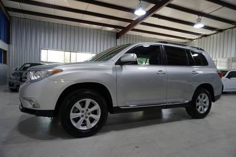 2012 Toyota Highlander for sale in Houston, TX