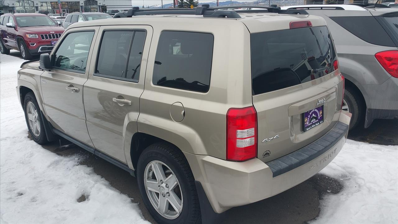 2010 jeep patriot sport 4x4 4dr suv in butte mt jeep montana. Black Bedroom Furniture Sets. Home Design Ideas