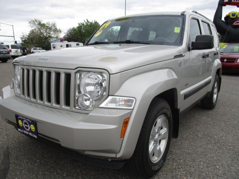 2009 jeep liberty 4x4 sport 4dr suv in butte mt jeep montana. Black Bedroom Furniture Sets. Home Design Ideas