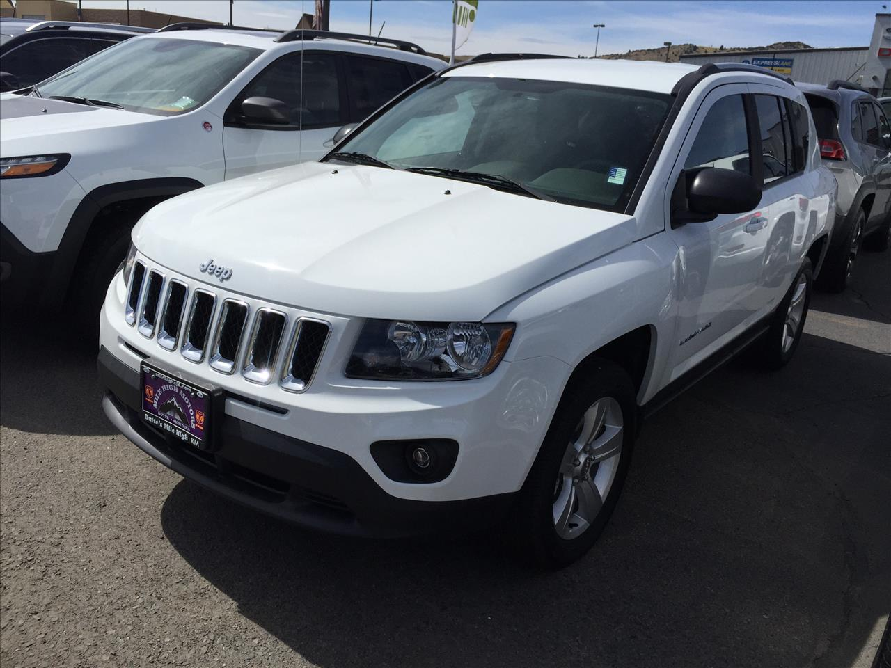 2016 jeep compass sport 4x4 4dr suv in butte mt jeep montana. Black Bedroom Furniture Sets. Home Design Ideas