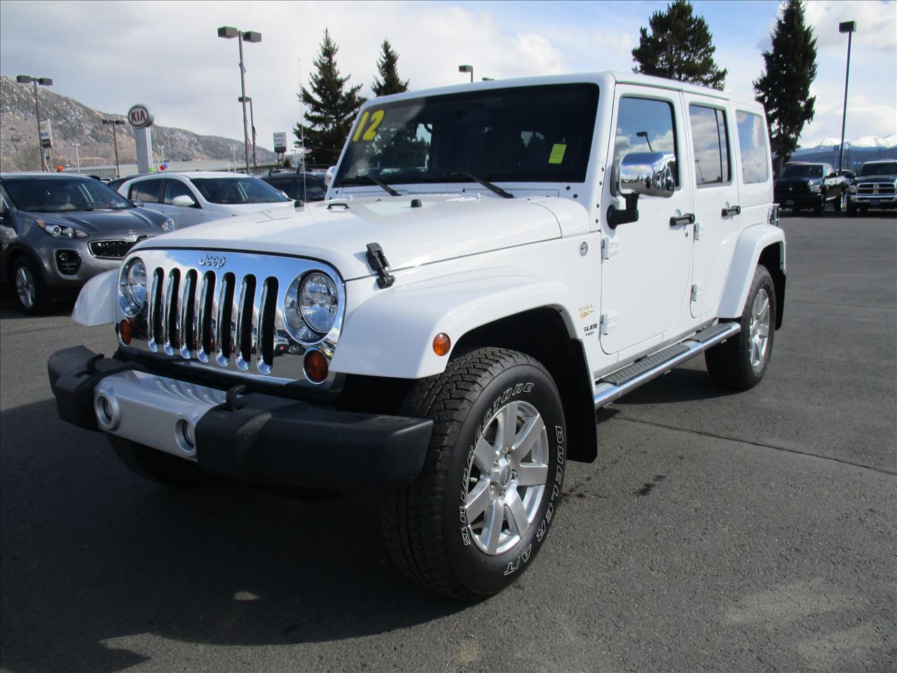 2012 jeep wrangler unlimited sahara 4x4 4dr suv in butte mt jeep montana. Black Bedroom Furniture Sets. Home Design Ideas