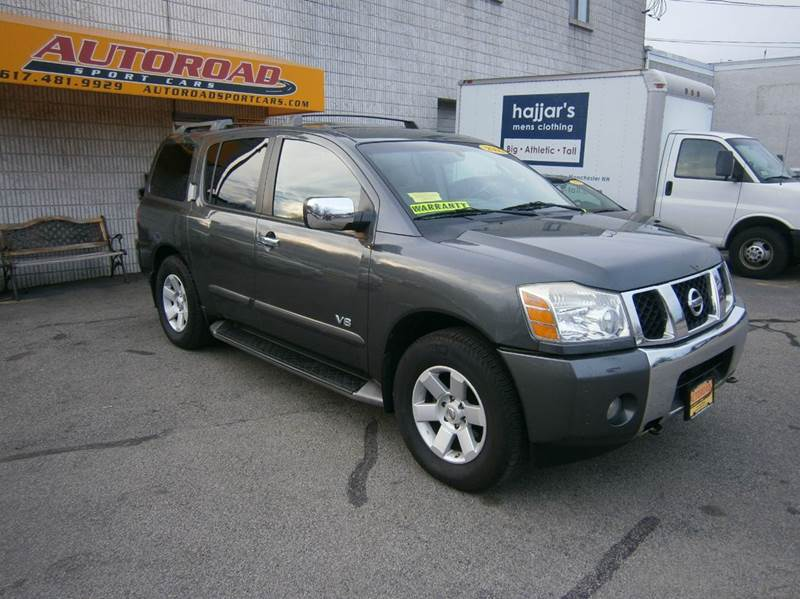 2005 nissan armada le 4wd 4dr suv in quincy ma autoroad. Black Bedroom Furniture Sets. Home Design Ideas