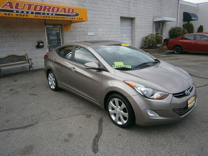 2011 hyundai elantra limited 4dr sedan in quincy ma autoroad sport cars. Black Bedroom Furniture Sets. Home Design Ideas