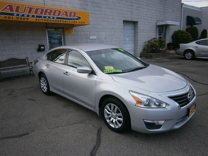 2014 nissan altima 2 5 s 4dr sedan in quincy ma autoroad sport cars. Black Bedroom Furniture Sets. Home Design Ideas