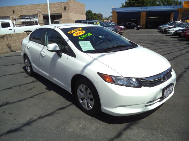 2012 HONDA CIVIC LX 4DR SEDAN 5A white lowlowlowest price guaranteed we have no salesmen foll