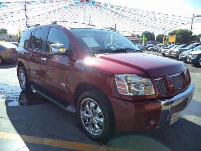 2005 NISSAN ARMADA SE 4DR SUV maroon must sale asap bad credit  no credit  bankruptcy  1st ti
