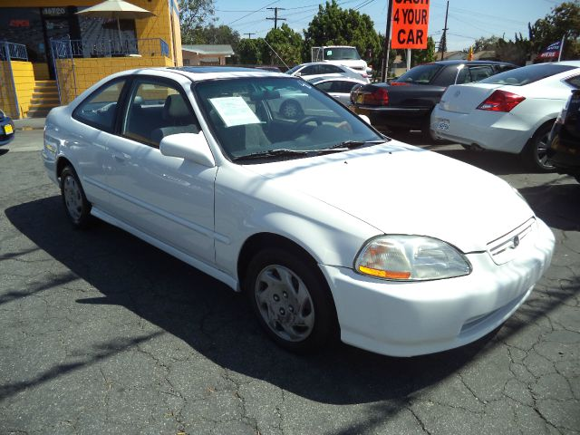 1996 HONDA CIVIC EX 2DR COUPE white lowlowlowest price guaranteed we have no salesmen follow