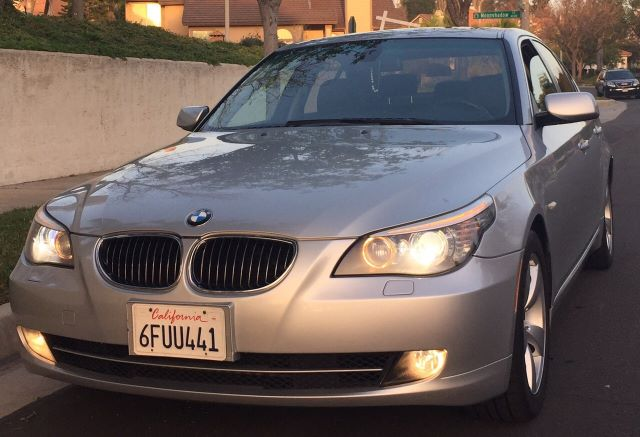 2008 BMW 5 SERIES 528I SEDAN LUXURY silver must sale asap bad credit  no credit  bankruptcy