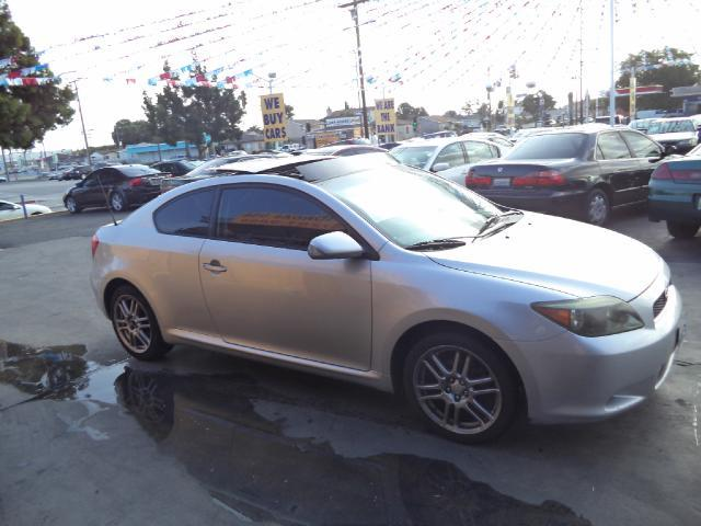 2006 SCION TC BASE 2DR HATCHBACK 24L I4 5M silver bad credit  no credit  bankruptcy  1st t