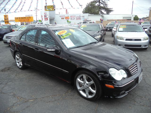 2007 MERCEDES-BENZ C-CLASS C230 SPORT 4DR SEDAN black lowlowlowest price guaranteed we have n
