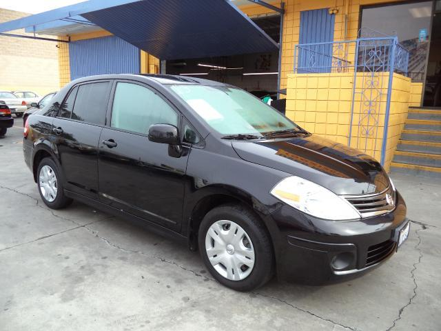 2010 NISSAN VERSA 18 SL 4DR SEDAN black lowlowlowest price we have no salesmen following y