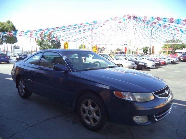 1999 TOYOTA CAMRY SOLARA SLE V6 2DR COUPE blue bad credit  no credit  bankruptcy  1st time bu
