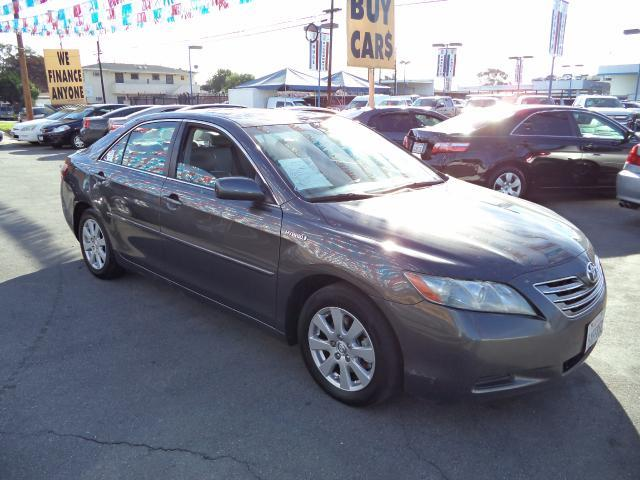 2007 TOYOTA CAMRY HYBRID BASE 4DR SEDAN gray bad credit  no credit  bankruptcy  1st time buyer