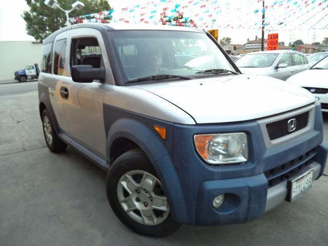 2006 HONDA ELEMENT LX 4DR SUV silver must sale asap bad credit  no credit  bankruptcy  1st ti