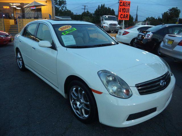 2005 INFINITI G35 BASE RWD 4DR SEDAN white lowlowlowest price guaranteed we have no salesmen