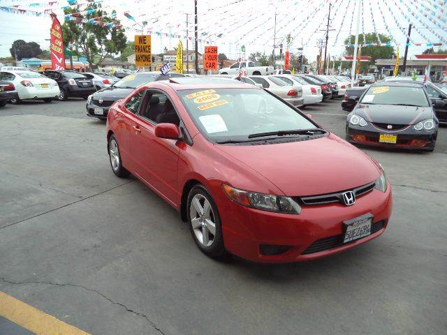 2006 HONDA CIVIC EX 2DR COUPE red must sale asap bad credit  no credit  bankruptcy  1st time