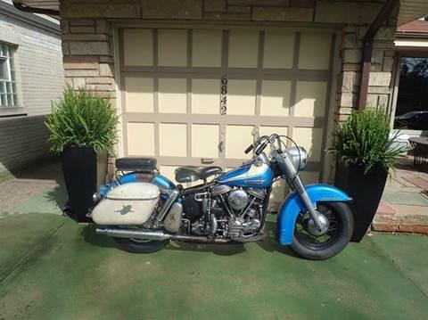 1962 Harley-Davidson FLH Panhead