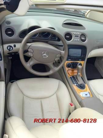 2008 Mercedes-Benz SL-Class SL550 2dr Convertible - Dallas TX