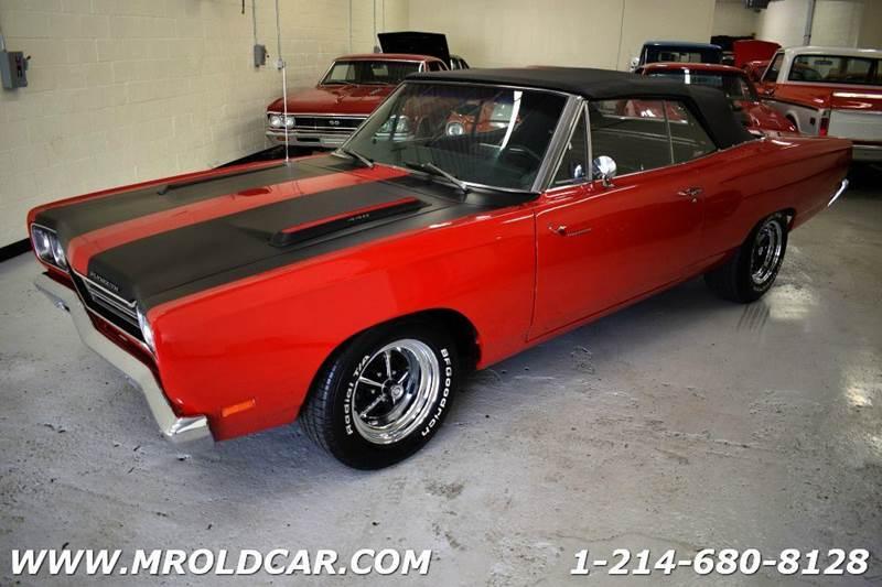 1969 Plymouth Roadrunner CONVERTIBLE - Dallas TX
