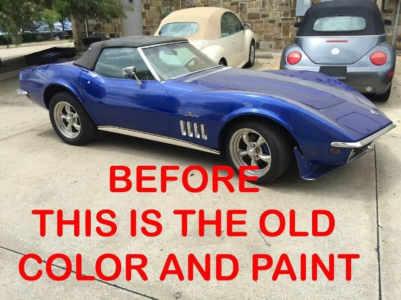 1969 Chevrolet Corvette STINGRAY 4 SPEED - Dallas TX