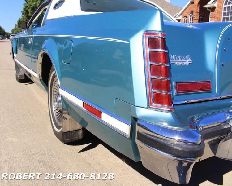 1979 Lincoln Mark V CARTIER LIMITED EDITION CARTIER - Dallas TX