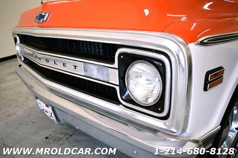 1969 Chevrolet C/K 10 Series SHORT BED - Dallas TX