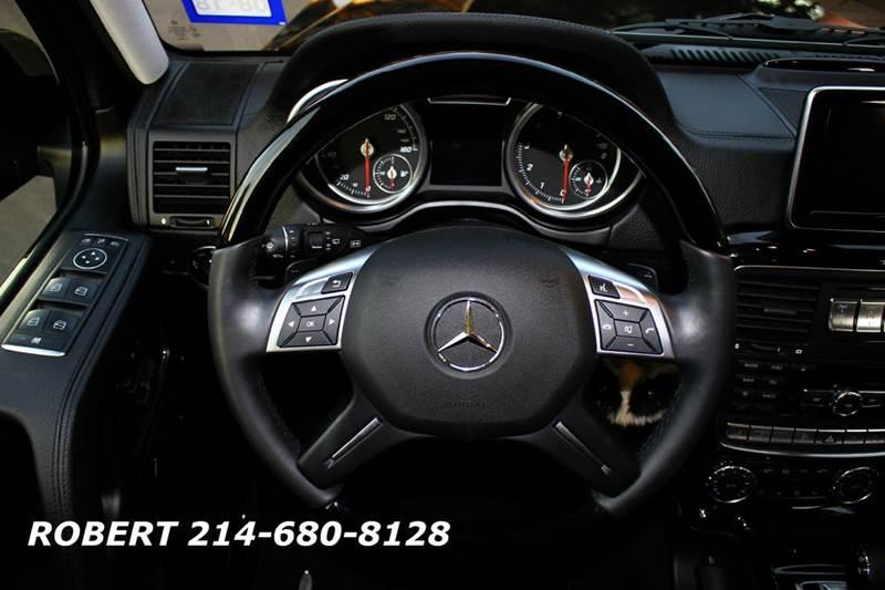 2016 Mercedes-Benz G-Class G550 AWD 4MATIC 4dr SUV - Dallas TX
