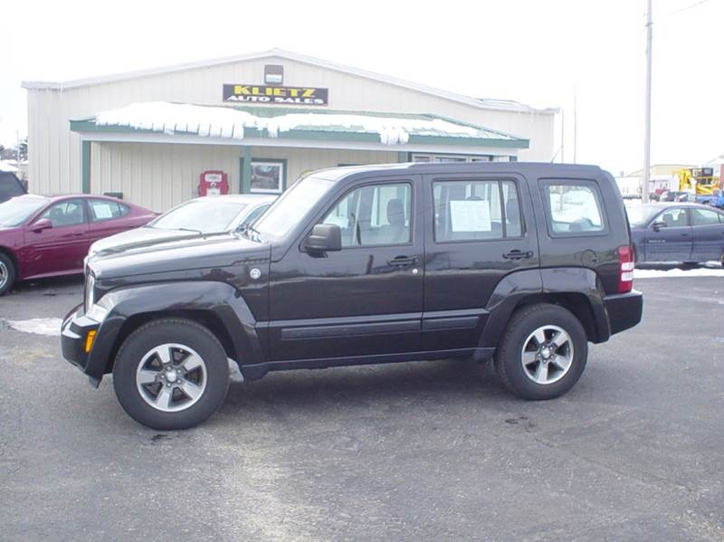 2008 jeep liberty sport 4x4 sport 4dr suv in horicon wi klietz auto. Black Bedroom Furniture Sets. Home Design Ideas