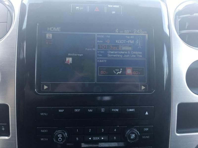 2012 Ford F-150 4x4 Platinum 4dr SuperCrew Styleside 5.5 ft. SB - Anchorage AK