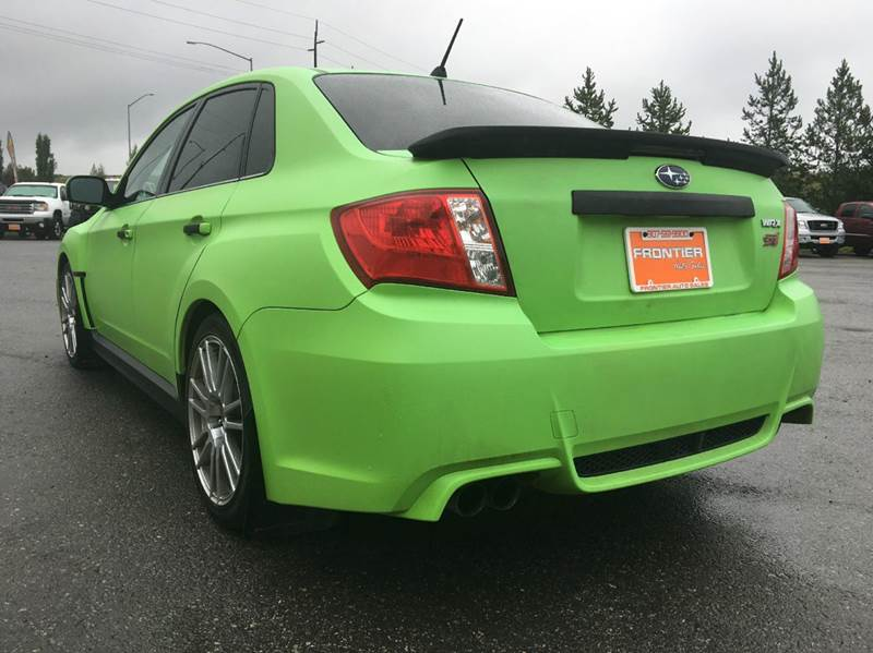 2011 Subaru Impreza AWD WRX STI Limited 4dr Sedan - Anchorage AK
