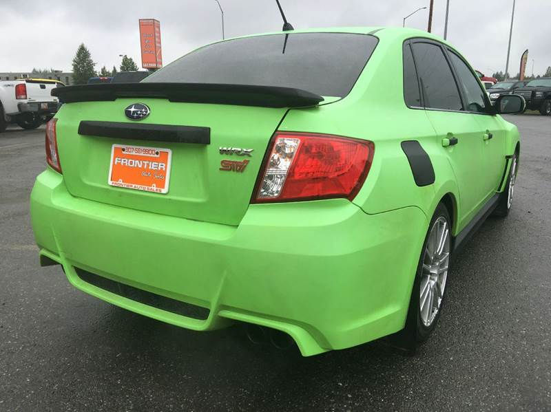2011 Subaru Impreza AWD WRX STI Limited 4dr Sedan - Anchorage AK