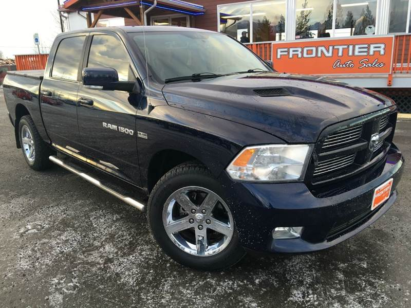 2012 RAM Ram Pickup 1500 Sport 4x4 4dr Crew Cab 5.5 ft. SB Pickup - Anchorage AK