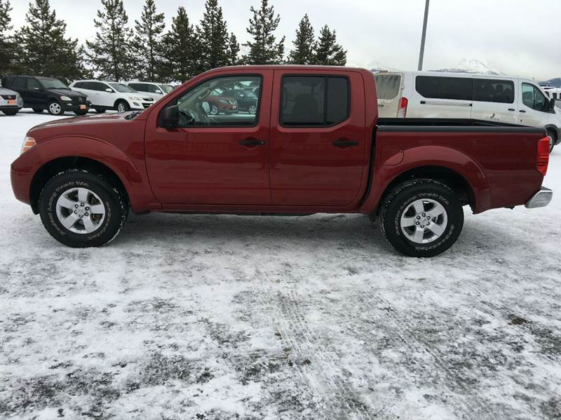 2013 Nissan Frontier 4x4 SV 4dr Crew Cab 5 ft. SB Pickup 5A - Anchorage AK