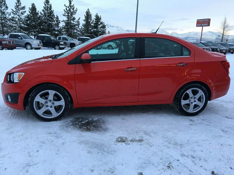 2014 Chevrolet Sonic LTZ Auto 4dr Sedan - Anchorage AK